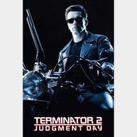 Terminator 2: Judgment Day 4K redeem at VUDU