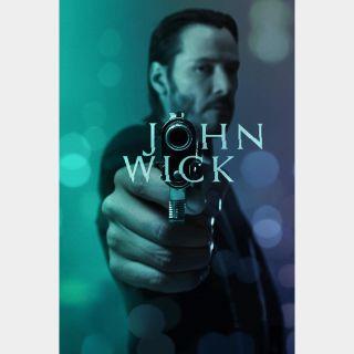 John Wick- HDX - Instant - VUDU