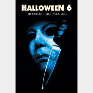 Halloween: The Curse of Michael Myers - HDX - Instant - VUDU