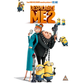 Despicable Me 2 HDX Movies Anywhere Instant Download