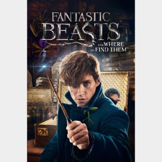 Fantastic Beasts and Where to Find Them - HDX - Instant - MA