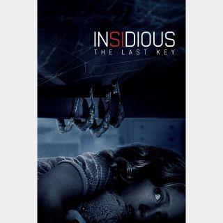 Insidious: The Last Key - HD - Instant - MA