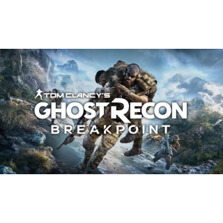 Tom Clancy's Ghost Recon Breakpoint  (RoW) global! Uplay