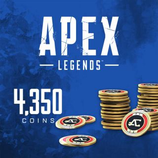 Apex Legends: 4,350 Coins (PlayStation 4) - US - INSTANT DELIVERY