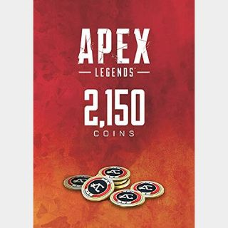 APEX Legends: 2150 Coins (Xbox One) - US - INSTANT DELIVERY