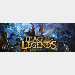 $10.00 League of Legends Riot Points - US - INSTANT DELIVERY