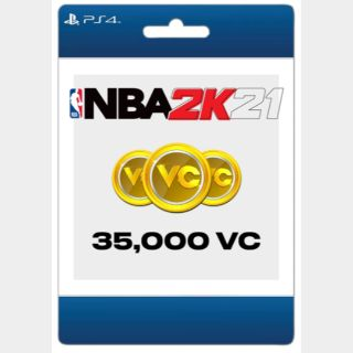 NBA 2K21: 35,000 (Playstation)  - US - INSTANT DELIVERY