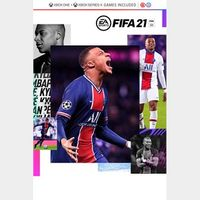 FIFA 21 Standard Edition Xbox One & Xbox Series X|S (Xbox One) - US - INSTANT DELIVERY