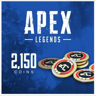 Apex Legends: 2,150 Coins (PlayStation 4) - US - INSTANT DELIVERY