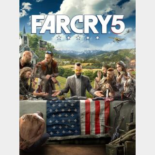 Far Cry 5 - US - INSTANT DELIVERY