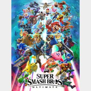 Super Smash Bros. Ultimate - US - INSTANT DELIVERY