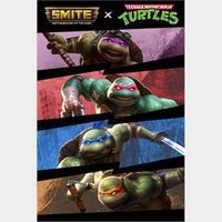 SMITE x TMNT Plus Bundle - US - INSTANT DELIVERY