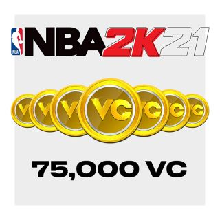 NBA 2K21: 75,000 Virtual Currency - USD - INSTANT DELIVERY