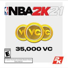 NBA 2K21: 35,000 Virtual Currency (Xbox One) - US - INSTANT DELIVERY