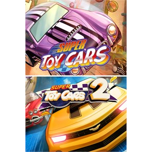 Super Toy Cars 1 & 2 Bundle (Xbx One) - US - INSTANT DELIVERY