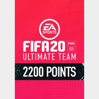 FIFA 20 Ultimate Team 2200 FIFA Points - US - INSTANT DELIVERY