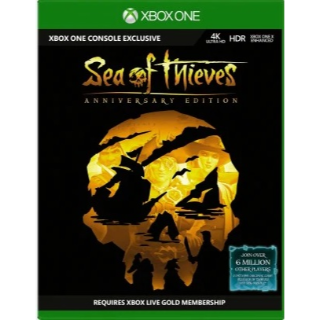 Sea of Thieves: Anniversary Edition Xbox One / Win 10 GLOBAL
