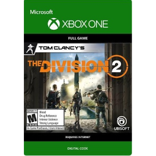 The Division 2 Xbox one / Xbox live - Global