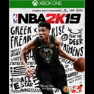 NBA 2K19 Xbox one Key / Download code GLOBAL