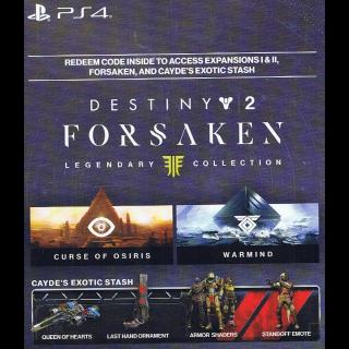 Destiny 2 Forsaken + Preorder Bonus! US/CAN