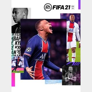 FIFA 21 (PS4) PSN FULL GAME DOWNLOAD CODE KEY - USA ONLY