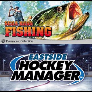 [Steam]Sega Bass Fishing and Eastside Hockey Manager