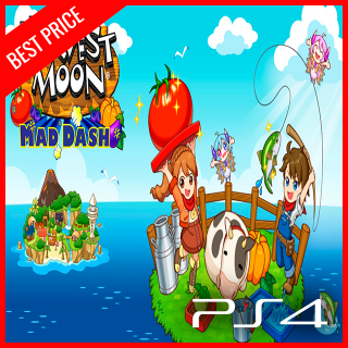 Harvest Moon: Mad Dash PS4 CD Key EU (Instant)