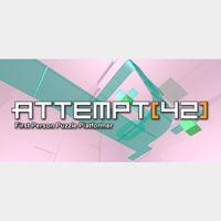 Attempt[42]
