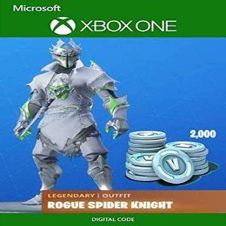 Code | Xbox Rogue Spider Knight