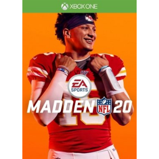 Madden NFL 20 (XBOX ONE) - US - INSTANT