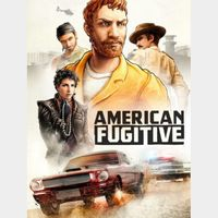 American Fugitive Steam Key *Instant Delivery*