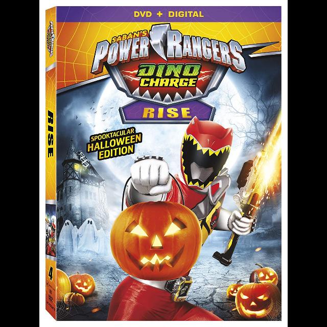 Power Rangers Dino Charge Rise - UV Code Vudu - (Lionsgate