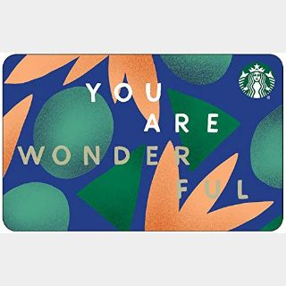 $50.00 Starbucks eGift Card ($5.00 x 10 = $50.00)* - Automatic delivery!