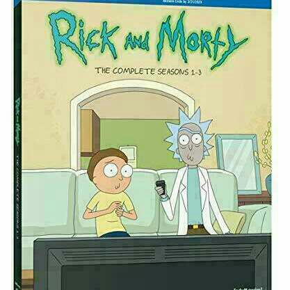 Rick And Morty SEASONS 1 -3 HDX TV Show DIGITAL CODE