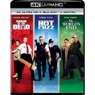 Shaun of the Dead 4K / Hot Fuzz 4K / The World's End 4K