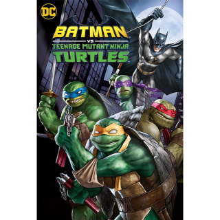 Batman vs. Teenage Mutant Ninja Turtles 4K