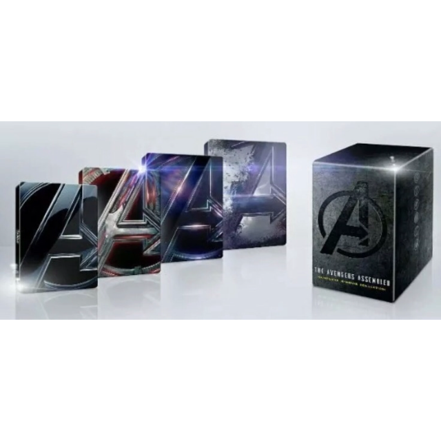 The Avengers Assembled 4 Movie Collection Set 4K