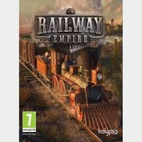 Railway Empire Steam Key Global (Instant Delivery)