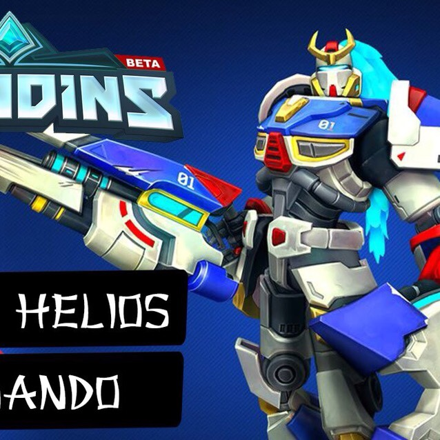 Paladins Helios FN01 Skin (PC/Xbox One/PS4) Region Free