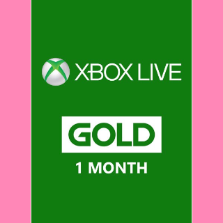 1 Month Xbox Live Gold [GLOBAL]