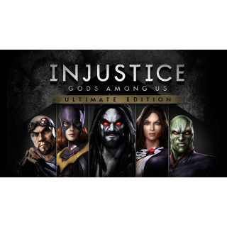 Injustice Gods Among Us Ultimate Edition + Graveyard Keeper + Bomber Crew Steam Key