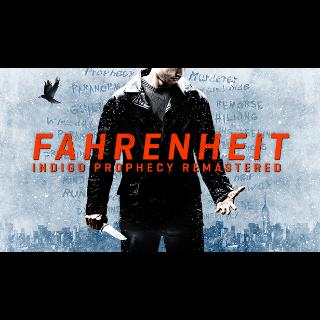Fahrenheit: Indigo Prophecy Remastered steam code