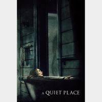 A Quiet Place ITUNES OR 4K