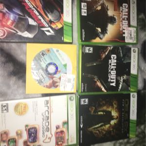 Xbox 360 comes with 6 disc games and five downloaded