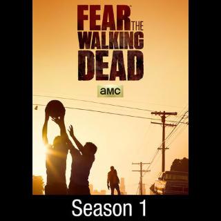 Fear the Walking Dead Season 1 | Vudu