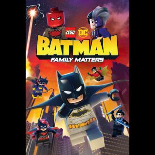 LEGO DC: Batman - Family Matters (2019)   Vudu