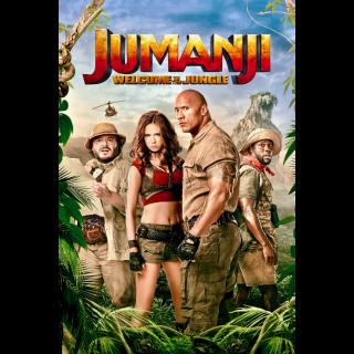 Jumanji: Welcome to the Jungle 4K UHD | Vudu