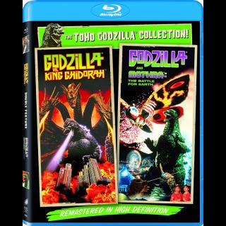 Godzilla Vs. King Ghidorah / Godzilla Vs. Mothra (Bundle) (1991)   Vudu
