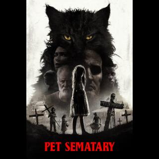Pet Sematary (2019) 4K UHD | Vudu