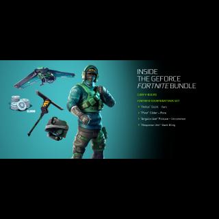 Fortnite Nvidia Counterattack Bundle Code - Exclusive
